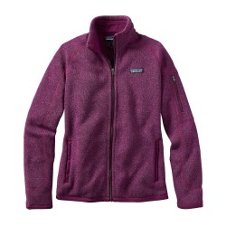 Better Sweater Jacket, violet red / Damen