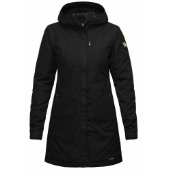 Kiruna Padded Parka, black / Damen
