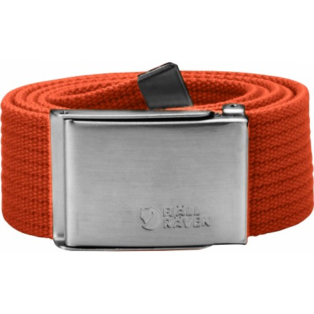 Canvas Belt, flame orange