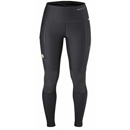Abisko Trekking Tights, black / Damen