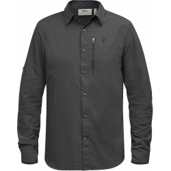Abisko Hike Shirt L/S uni, dark grey