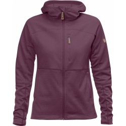 Abisko Trail Fleece Jacket, plum / Damen