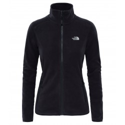 100 Glacier Full Zip Jacket, tnf black / Damen