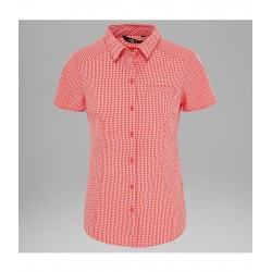 Bryce S/S Shirt, cayenne red / Damen