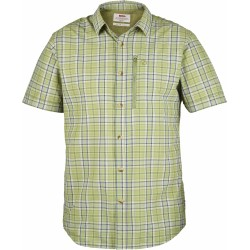 Abisko Hike Shirt S/S checked, willow
