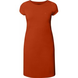 High Coast Dress, flame orange / Damen