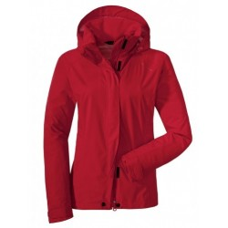 Easy L Jacket, high risk red / Damen
