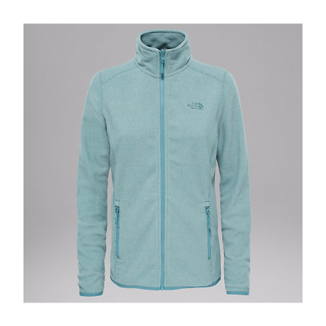 100 Glacier Full Zip Jacket, trellis green stripe / Damen