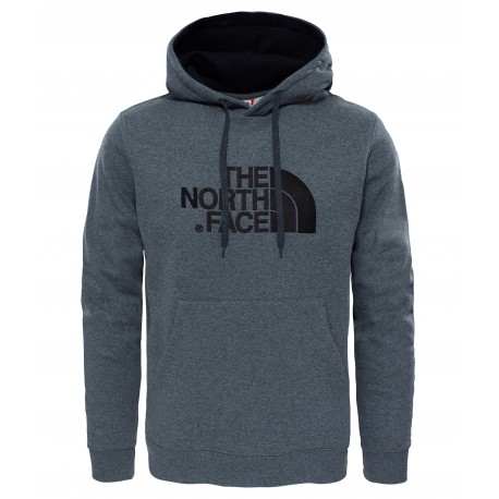 Drew Peak Pullover Hoodie, tnf medium grey heather