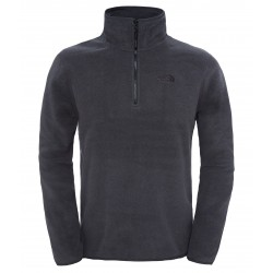 100 Glacier 1/4 Zip, tnf dark grey heather
