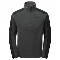 100 Glacier Delta 1/4 Zip, dark grey heather