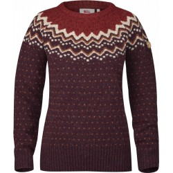 Övik Knit Sweater, dark garnet / Damen