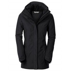 Altiplano Wool Parka, black / Damen