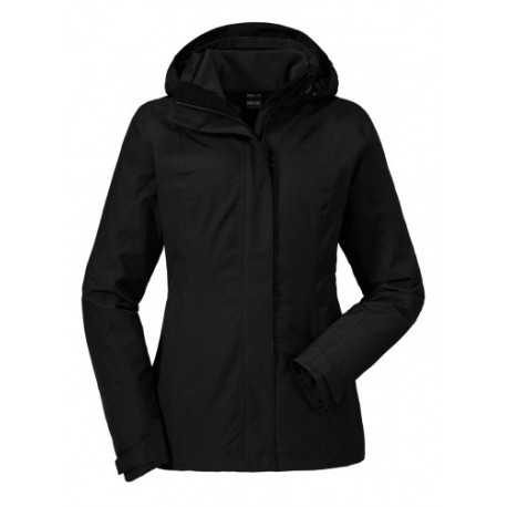 Tignes 3in1 Jacket, black / Damen