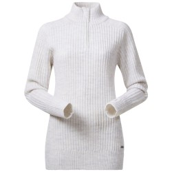 Minde Lady Jumper, white melange / Damen