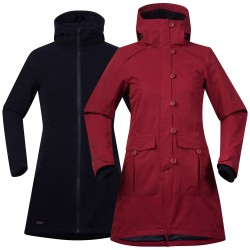 Bjerke 3in1 Coat, burgundy / Damen