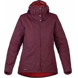 Skogsö Padded Jacket, dark garnet / Damen