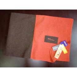 Blanket, brown-terra