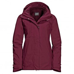Echo Pass, garnet red / Damen