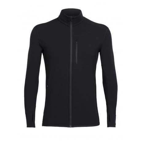 Descender L/S Zip, black