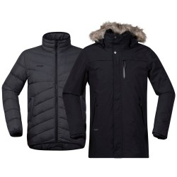 Sagene 3in1 Jacket, black