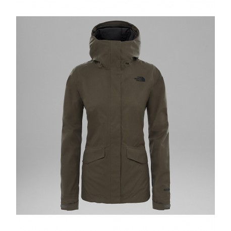 All Terrain Zip In Jacket, new taupe green / Damen