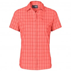 Centaura Stretch Vent Shirt, hot coral / Damen