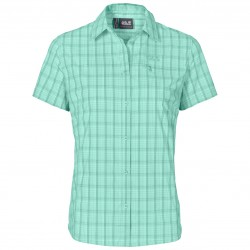Centaura Stretch Vent Shirt, pale mint / Damen