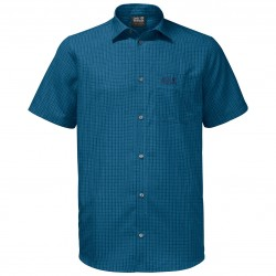 El Dorado Shirt, poseidon blue checks