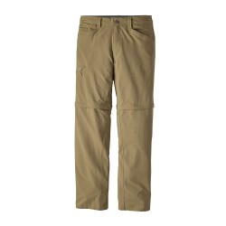 Quandary Convertible Pants, ash tan