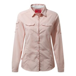 NosiLife Adventure L/S Shirt, blossom pink / Damen