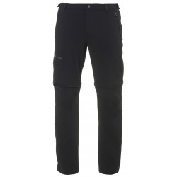 Farley Stretch T-Zip Pants Short, black