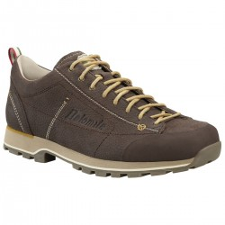 Cinquantaquattro Low Leather, testa di moro