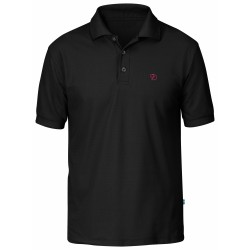 Crowley Piqué Shirt, black