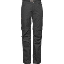Daloa Shade Z/O Trousers, dark grey / Damen