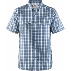 Abisko Cool S/S Shirt, uncle blue