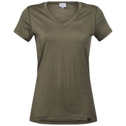 Bloom Wool Lady Tee, khaki green / Damen