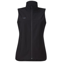 Ramberg Softshell Lady Vest, black / Damen