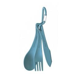 Delta Cutlery Set, pacific blue