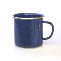 Emaille Tasse 360, blau