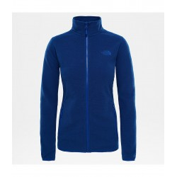 100 Glacier Full Zip Jacket, sodalite blue stripe / Damen