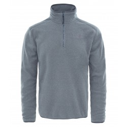 100 Glacier 1/4 Zip, tnf medium grey heather
