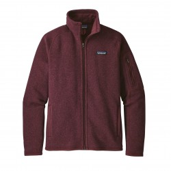 Better Sweater Jacket, dark currant / Damen