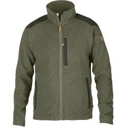 Buck Fleece Jacket, laurel green