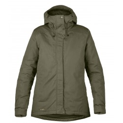 Skogsö Padded Jacket, laurel green / Damen