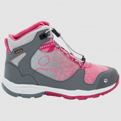 Kids Grivla Texapore Mid 31-35, azalea red