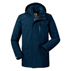 Clipsham Insulated Jacket, night blue