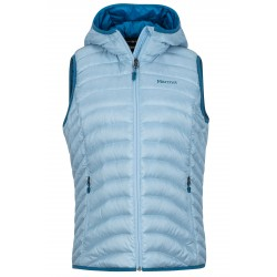 Bronco Hooded Vest, iceberg / Damen
