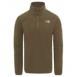 100 Glacier 1/4 Zip, new taupe green