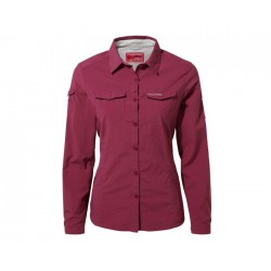 NosiLife Adventure L/S Shirt, amalfi rose / Damen